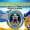 Logo Alfredo Sequeira Veterano de Malvinas, invita a la reunión de la Federación de Veteranos héroes de l