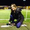 """Logo Angela Lerena: """"Siempre fuí un bicho raro en el periodismo deportivo, no solo por mi género"""""""