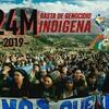 Logo @vocesterritorios #24M Jornada Basta de Genocidio Indígena