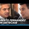 """Logo Reynaldo analiza con Alberto Fernandez el """"Post-Sinceramente"""""""