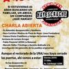"""Logo Hablamos con Marcela Torres sobre la Campaña Pública """"A 40 años, si no hay justicia hay escrache""""."""