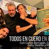 Logo Berugo y Víctor Hugo en Todos en Cuero