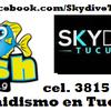 "Logo Nota Manyines en la Tarde de Paracaidismo ""Skydive Tucuman"" en Radio Fish"