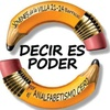 """Logo """"Mar de fueguitos"""" presenta: Decir es Poder, alfabetizadores en Villa 21.24 Barracas."""