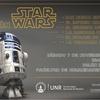 Logo Maratón de Star Wars en la Facultad de Humanidades y Artes.