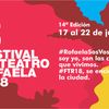 Logo #FTR18 El Festival de teatro de Rafaela en BEV