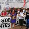 Logo Protesta de docentes universitario en Pizzurno, declaraciones @ileanaCelotto de @ubaagd