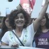 """Logo Checha Merchán en Cazadores: """"Las principales empobrecidas somos las mujeres"""""""