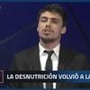 Logo Juan Amorin sisnterizando 3 años de Macri