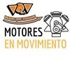 Logo Motores en Movimiento, con Pablo Schillaci