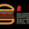 Logo #Burgerfacts en la Metro