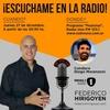 Logo Federico Hirigoyen es entrevistado en el programa Peatonal en Radio Uno