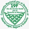 Logo #19F Dia de Acción Verde Por el Aborto Legal