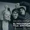 """Logo Nacha Vollenweider y @porAlcobre con @miguelrep en """"El holograma y la anchoa"""" de @am750"""