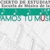 Logo Ciclo de conciertos de estudiantes de la Escuela de Música de la Facultad de Humanidades y Artes.