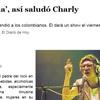 """Logo """"Viva Cocalombia"""" la historia de Charly García amenazado por narcos Colombianos"""