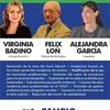Logo Alejandra García candidata a la Asamblea de Delegados del Colegio de Abogados por Cambio Pluralista