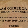 Logo Lo Normal es Paranormal.....Adam Ellis; Dear David y los 7 portales del Infierno en Mendoza!!! 29/11
