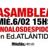 Logo Editorial Atlántida: despidos y medidas de lucha  denuncia Delegado Félix Vallejos