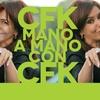 Logo @CFKArgentina mano a mano con #Vernaci