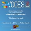 Logo En @nuestrasvocesok radio analizamos las reformas en Brasil y en Argentina junto a Agustina Sarría