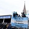 Logo La concentración por #PazPanYTrabajo en #Lujan y el #NotiTrabajadoresTVP