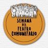 Logo Semana del Teatro Comunitario en La Mañana con Victor Hugo