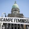 Logo Feminismo Villero en la 750am