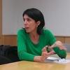 Logo Entrevista a Daniela Monje, sobre políticas públicas de comunicación.