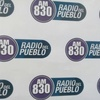 Logo Augusto Castro en Radio del Pueblo con Mariana Mei