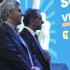 """Logo Entrevista Guido """"Kibo"""" Carlotto con Roberto Caballero en Mañana es Hoy - Radio Nacional"""