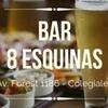 Logo Bar 8 esquinas