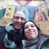 Logo Julia Peralta y Federico Bertoli, integrantes del quinteto Monos Maravilla, pasaron por La Tribu