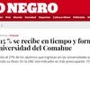 """Logo """"En estos días"""" - La operación del Diario Río Negro contra la Universidad Pública"""