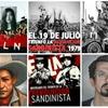 Logo REVOLUCION POPULAR SANDINISTA contada con las canciones latinoamericanas