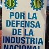 Logo Diego Espeche sobre la campaña de la UOM en defensa de la Industria Nacional