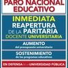 Logo Entrevista Federico Montero - Paro Universitario del 24 de agosto de 2016 - Radio UBA - Parte 1