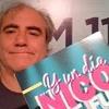 Logo CD de Y Un Día Nico Se Fue de Osvaldo Bazan con Pablo Gorlero