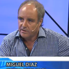 Logo Miguel Diaz en Radio Belgrano con Viviana Haye