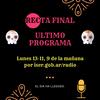 Logo Ultimo programa RECTA FINAL