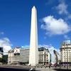 Logo Gustavo Díaz y el obelisco