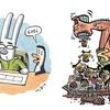 Logo debate humor: Liniers @porliniers y G Sala @tintadown vs Interprentando a Liniers @radiografica893