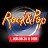"""Logo """"Rock & Pop - La imaginación al poder"""" en Radio América"""