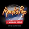 """Logo Guillermo Courau y Francisco Anselmi autores de """"Rock&Pop La imaginación al poder"""" en Bajo el volcán"""