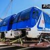Logo Roberto Pianelli sobre los nuevos vagones de la línea B de Subte. ¿Son más altos que el túnel?