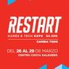 Logo [tecnologia] #Restart2015 // videojuegos y tendencias digitales en @ntdradio @nacionalrock937