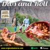 Logo Dios and Roll - God and Roll (in spanish)