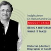 Logo 39.02 Ramachandra Guha - Being a historian - what it takes