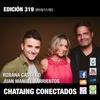 Logo 319 CONECTADOS Roxana Castillo y Juan Manuel Barrientos
