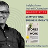 Logo 37.02 Indranil Chakraborty - Demystifying Business storytelling